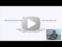 Vortrag: Zwischen der Freude am Erleben und der Lust am Denken